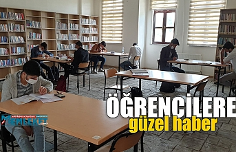 Kütüphaneler öğrencilere kapılarını açtı