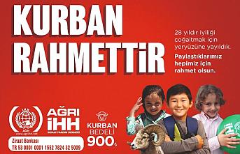 Kurbanlarınızı Türkiye ve 52 ülkede ihtiyaç sahiplerine ulaştırmayı hedefliyoruz.