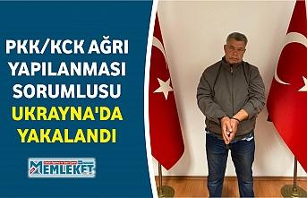 PKK/KCK AĞRI YAPILANMASI SORUMLUSU UKRAYNA'DA YAKALANDI