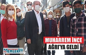 MUHARREM İNCE AĞRI'YA GELDİ