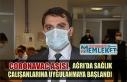 CoronaVac aşısı, Ağrı'da sağlık çalışanlarına...