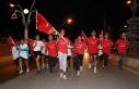 Ağrıda '15 Temmuz Sancak Koşusu' Düzenlendi