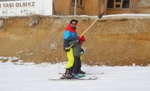 Küpkıran Kayak Merkezi'nde sömestir yoğunluğu