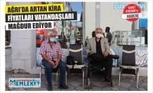 AĞRI'DA ARTAN KİRA FİYATLARI VATANDAŞLARI MAĞDUR EDİYOR