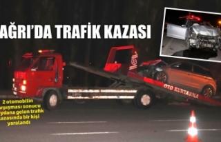 AĞRI'DA TRAFİK KAZASI