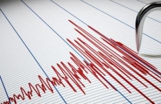 Tutak'ta korkutan deprem