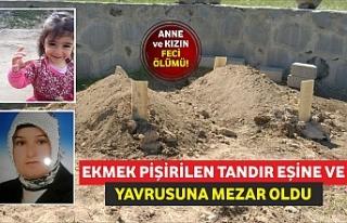 EKMEK PİŞİRİLEN TANDIR EŞİNE VE YAVRUSUNA MEZAR...