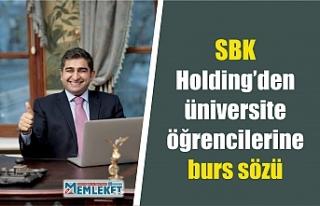 SBK Holding'den Ağrılı üniversite öğrencilerine...