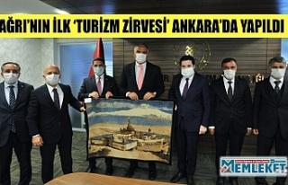 AĞRI'NIN İLK 'TURİZM ZİRVESİ' ANKARA'DA...
