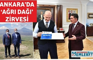 ANKARA'DA 'AĞRI DAĞI' ZİRVESİ