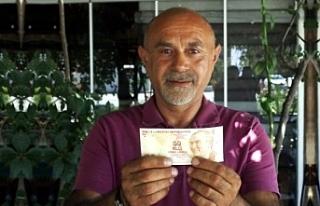 Hatalı basılan 50 TL'ye, 75 bin lira teklif...