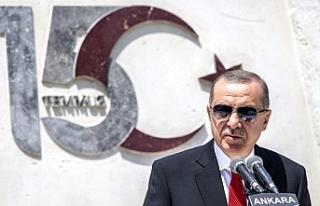 Son dakika: Cumhurbaşkanı Erdoğan: 15 Temmuz gecesi...
