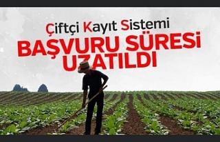 Ağrı'da Çiftçi Kayıt Sistemi (ÇKS) başvuruları...