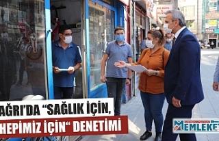 """AĞRI'DA """"SAĞLIK İÇİN, HEPİMİZ İÇİN""""..."""