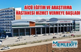 AİÇÜ EĞİTİM VE ARAŞTIRMA HASTANESİ HİZMET...