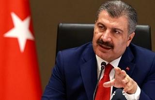 Sağlık Bakanı Fahrettin Koca: Rahatlık devam ederse,...