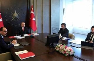 Kabine, Cumhurbaşkanı Erdoğan başkanlığında...