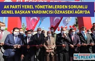 AK PARTİ YEREL YÖNETİMLERDEN SORUMLU GENEL BAŞKAN...