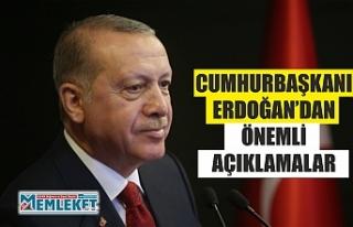 Cumhurbaşkanı Erdoğan: 'En kısa sürede yükseköğretimde...