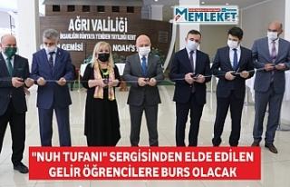 """NUH TUFANI"" SERGİSİNDEN ELDE EDİLEN..."