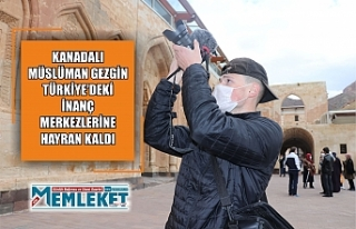 Kanadalı Müslüman gezgin Türkiye'deki inanç...