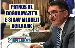 Patnos ve Doğubayazıt'a e-sınav merkezi açılacak