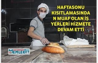 HAFTASONU KISITLAMASINDAN MUAF OLAN İŞ YERLERİ...