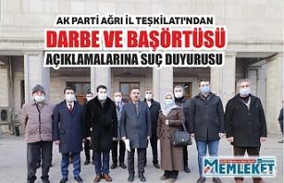 AK Parti Ağrı İl Teşkilatı'ndan darbe ve...