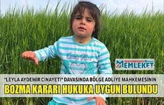 """Leyla Aydemir cinayeti"" davasında bölge..."