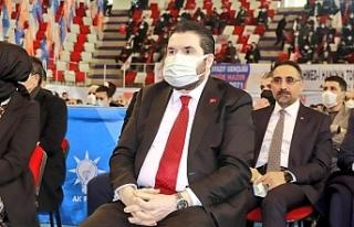 """Başkan Sayan: """"Ağrı'dan 2 bin kişi Diyarbakır'a..."""