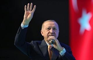 Cumhurbaşkanı Erdoğan, AK Parti Ağrı il kongresine...