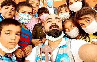 İran sınırında yaşayan çocukların hayalleri...