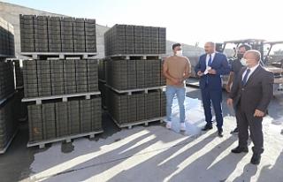 Vali Varol, Parke Üretim Tesisini ziyaret etti