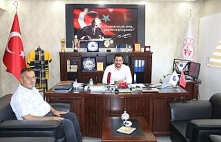 Başkan Aydın'dan Ağrı GSİM Çalgan'a Hayırlı...
