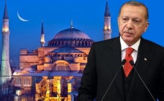 AK Parti'nin yaptırdığı Ayasofya anketinden çıkan sonuç Erdoğan'ın yüzünü güldürecek