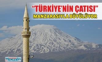 """""""Türkiye'nin Çatısı"""" manzarasıyla büyülüyor"""