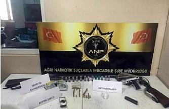 Ağrı'da uyuşturucu operasyonu: 7 tutuklama