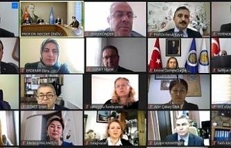 AİÇÜ ile Ankara Üniversitesi, YÖK Anadolu Projesi'nin ilk toplantısını yaptı