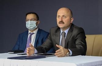 Vali Varol, kurum müdürleriyle toplantı yaptı