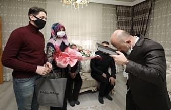 Vali Varol'dan Şehit Ailesine Ziyaret
