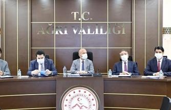 Ağrı'da İl İstihdam ve Mesleki Eğitim Kurulu toplantısı düzenlendi