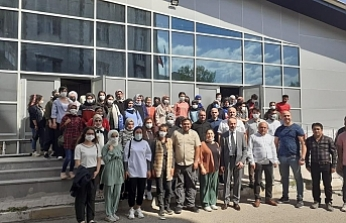 Diyadin'de bin kişiye istihdam sağlayacak tekstil fabrikası kuruluyor