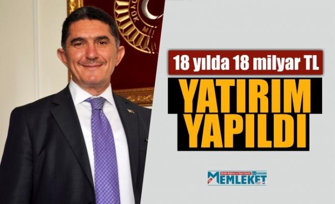 """""""Ağrı'ya 18 yılda 18 milyar TL yatırım yapıldı"""""""