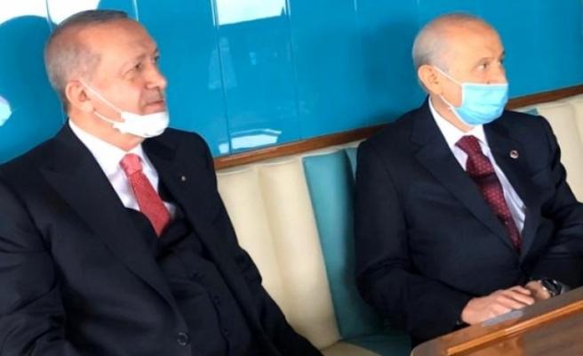 Cumhurbaşkanı Erdoğan-Bahçeli görüşmesi başladı! Masada 5 önemli başlık var
