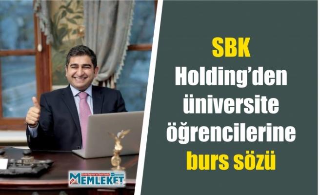 SBK Holding'den Ağrılı üniversite öğrencilerine burs imkanı