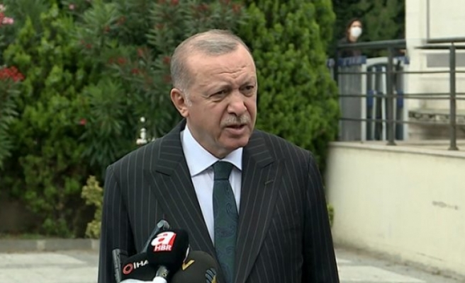Son Dakika: Cumhurbaşkanı Erdoğana cuma namazı çıkışı Kurban Bayramı için sokağa çıkma kısıtlaması soruldu