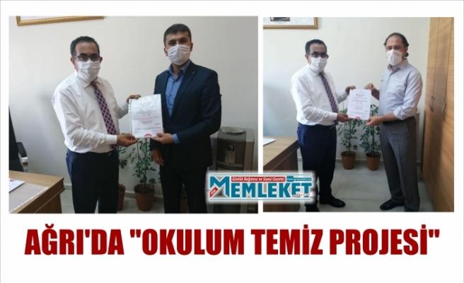 """AĞRI'DA """"OKULUM TEMİZ PROJESİ"""""""