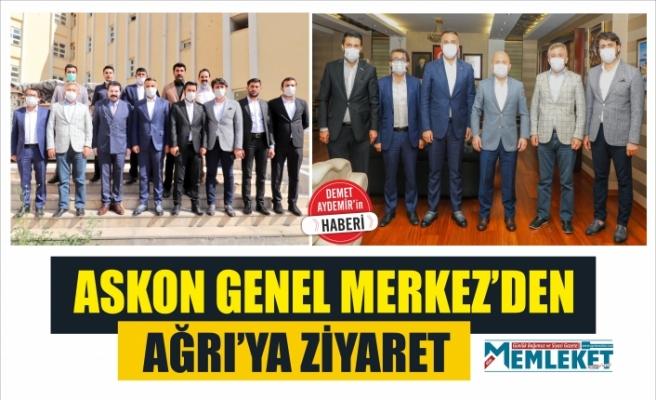 ASKON GENEL MERKEZ'DEN AĞRI'YA ZİYARET