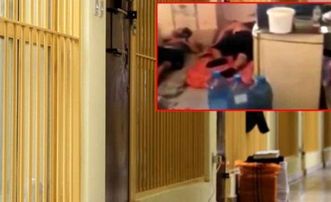 Lübnan'da koronavirüslü mahkumların görüntüleri tepki çekti