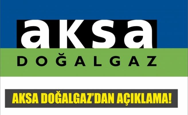 AKSA'dan Ağrı'da Doğalgaz  Fiyatlarına ilişkin açıklama